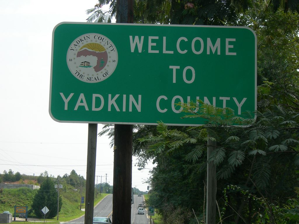 Yadkin County Sign