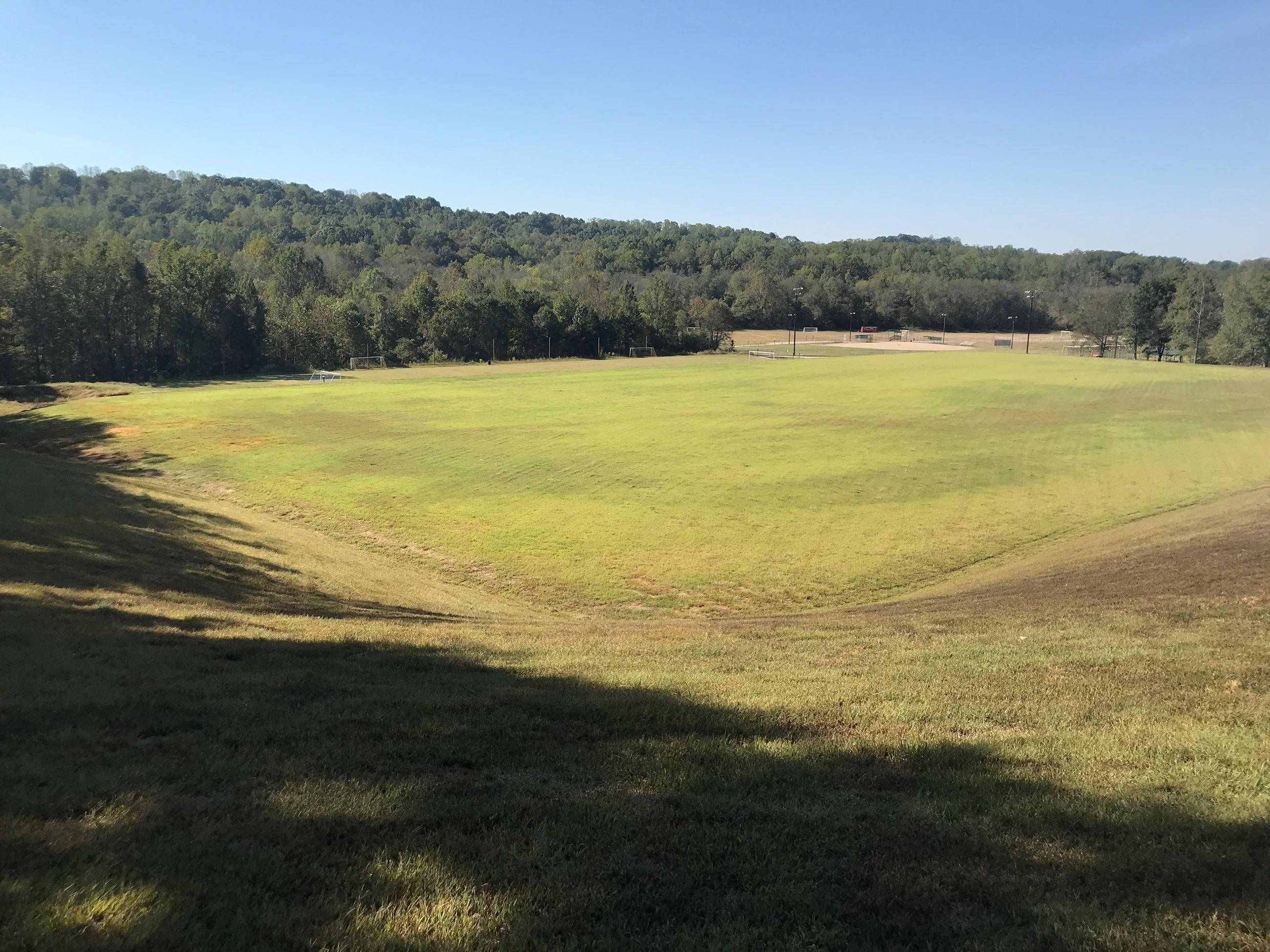 County Park New Soccer Field
