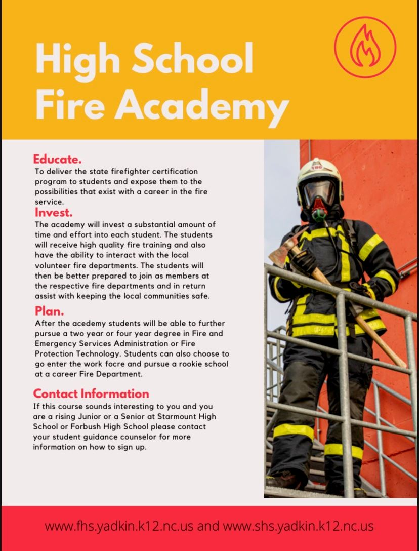 High School Fire Academy